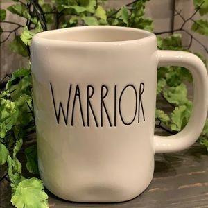 🎀🆕Rae Dunn WARRIOR Ceramic Mug